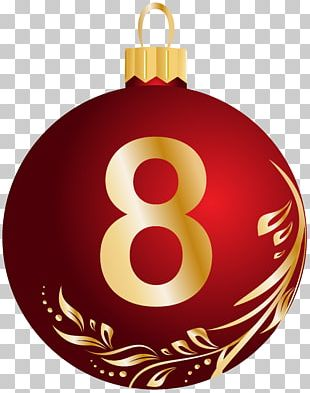 Christmas Number PNG