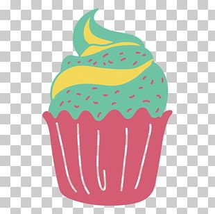Cupcake Birthday Cake Pastel PNG