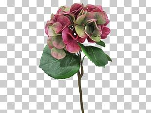 Artificial Flower Hydrangea Cut Flowers Flower Bouquet PNG