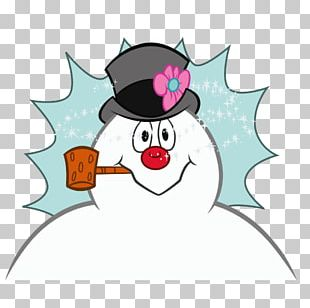 Frosty The Snowman Animated Film Sticker PNG