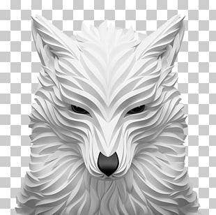 Gray Wolf 3D Computer Graphics Digital Art Illustration PNG