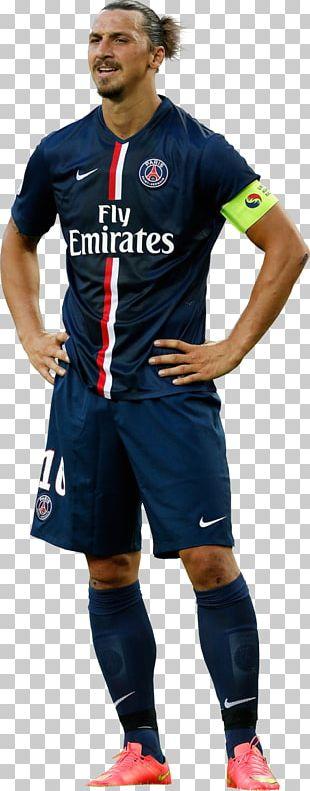 Zlatan Ibrahimović Paris Saint-Germain F.C. Manchester United F.C. Football Player Jersey PNG
