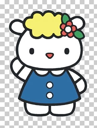 Hello Kitty: Best Friends Coloring Book Sanrio PNG