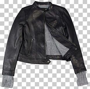 Leather Jacket Coat Schott NYC PNG
