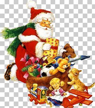 Santa Claus Père Noël Christmas Party New Year PNG