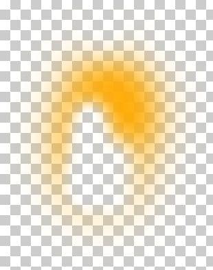 Yellow Angle Computer Pattern PNG