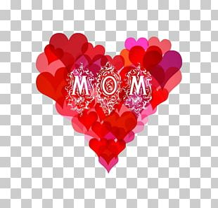 Mother's Day Gift Illustration PNG