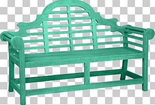 Garden Furniture Table Bench PNG