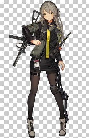Girls' Frontline Heckler & Koch UMP Game Character 散爆網絡 PNG