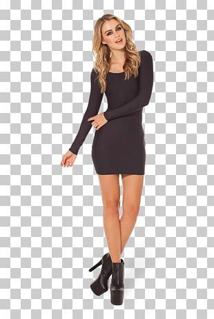 Little Black Dress Sleeve Skirt Fashion PNG