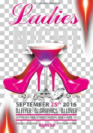 Poster Great Brak River Bar Ladies Night Nightclub PNG