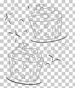Cupcake Coloring Book Birthday Cake Muffin PNG