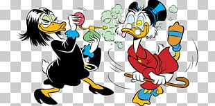 Magica De Spell Scrooge McDuck Donald Duck Mickey Mouse Beagle Boys PNG