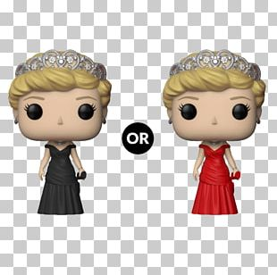 United Kingdom Funko British Royal Family Princess Of Wales Toy PNG