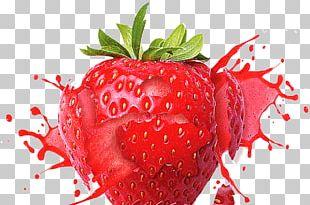 Juice Milkshake Strawberry Frutti Di Bosco Flavor PNG