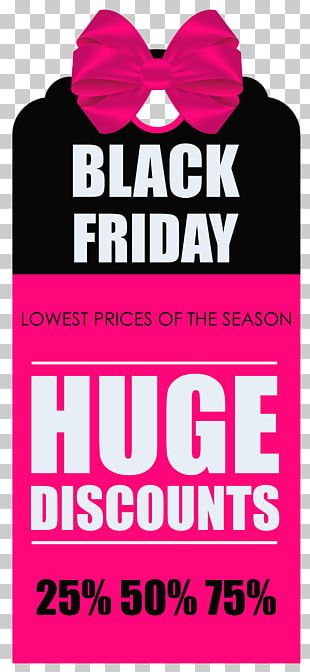 Black Friday Banner Icon PNG