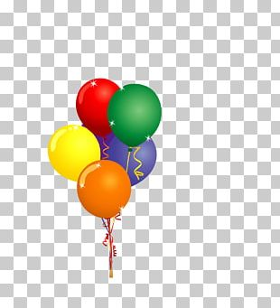 Hot Air Balloon Party PNG