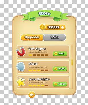 User Interface Design Game PNG