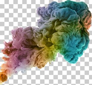 Mushroom Cloud Color Smoke PNG