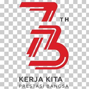 Logo Independence Day Brand Dirgahayu PNG