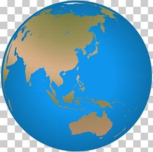 Globe Asia PNG