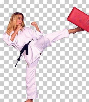 Karate Dobok Martial Arts Kickboxing Black Belt PNG