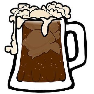 A&W Root Beer Beer Glassware PNG