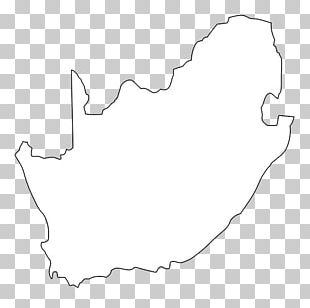 Flag Of South Africa Map Icon PNG