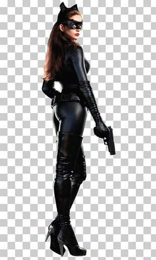 Anne Hathaway Cat Woman Standing PNG