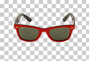 Goggles Sunglasses Ray-Ban Wayfarer Folding Flash Lenses PNG