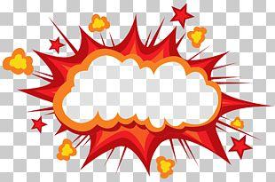 Cartoon Explosion Comics Comic Book PNG