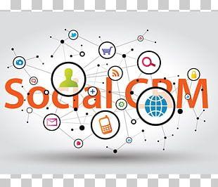 Social Media Marketing Customer Relationship Management Social Media Marketing Social CRM PNG