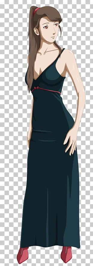 Gown Shoulder Character Cartoon PNG