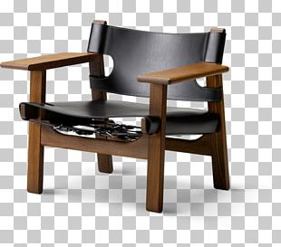 Eames Lounge Chair Fredericia Oak Table PNG