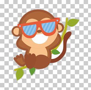 Sunglasses Monkey Infant Goggles PNG