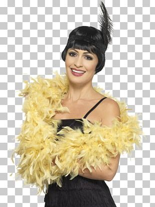 Feather Boa Costume Party 1920s Clothing Accessories PNG