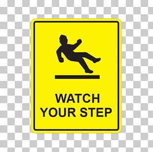 Watch Your Step Sign Safety Symbol PNG