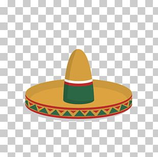 Mexico Mexican Cuisine Hat Icon PNG
