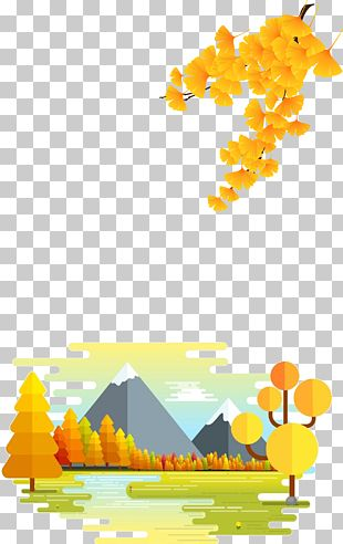 Autumn Border PNG