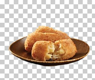Chicken Nugget Croquette Macaroni And Cheese Pizza Garlic Bread PNG
