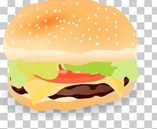 Hamburger Cheeseburger Hot Dog French Fries Whopper PNG