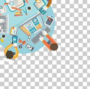 Meeting Round Table Illustration PNG