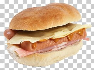 Breakfast Sandwich Bocadillo Cheeseburger Fast Food Ham And Cheese Sandwich PNG