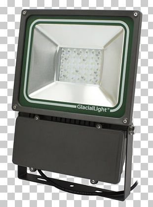Floodlight Lighting LED Lamp Multifaceted Reflector PNG
