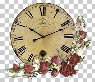 Mantel Clock Table Wall Antique PNG