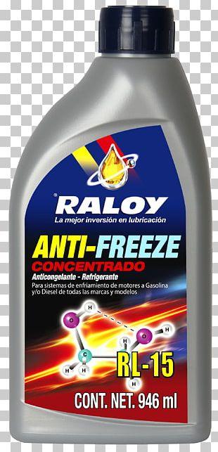 Liquid Antifreeze Motor Oil Lubricant Refrigerant PNG