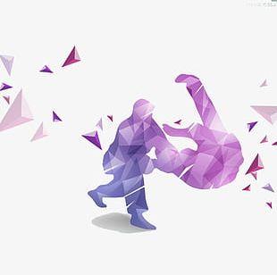 Judo Illustrations PNG