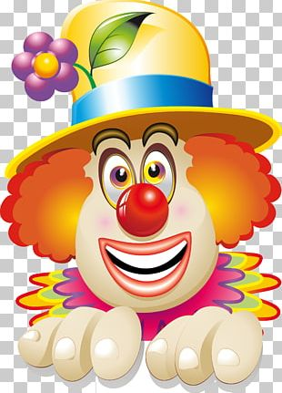 Clown Circus Face PNG