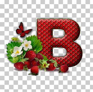 Letter Alphabet Flower PNG