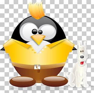 Penguin Chicken As Food Beak PNG